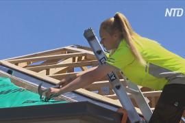 Юные австралийцы из неблагополучных семей учатся на строителей