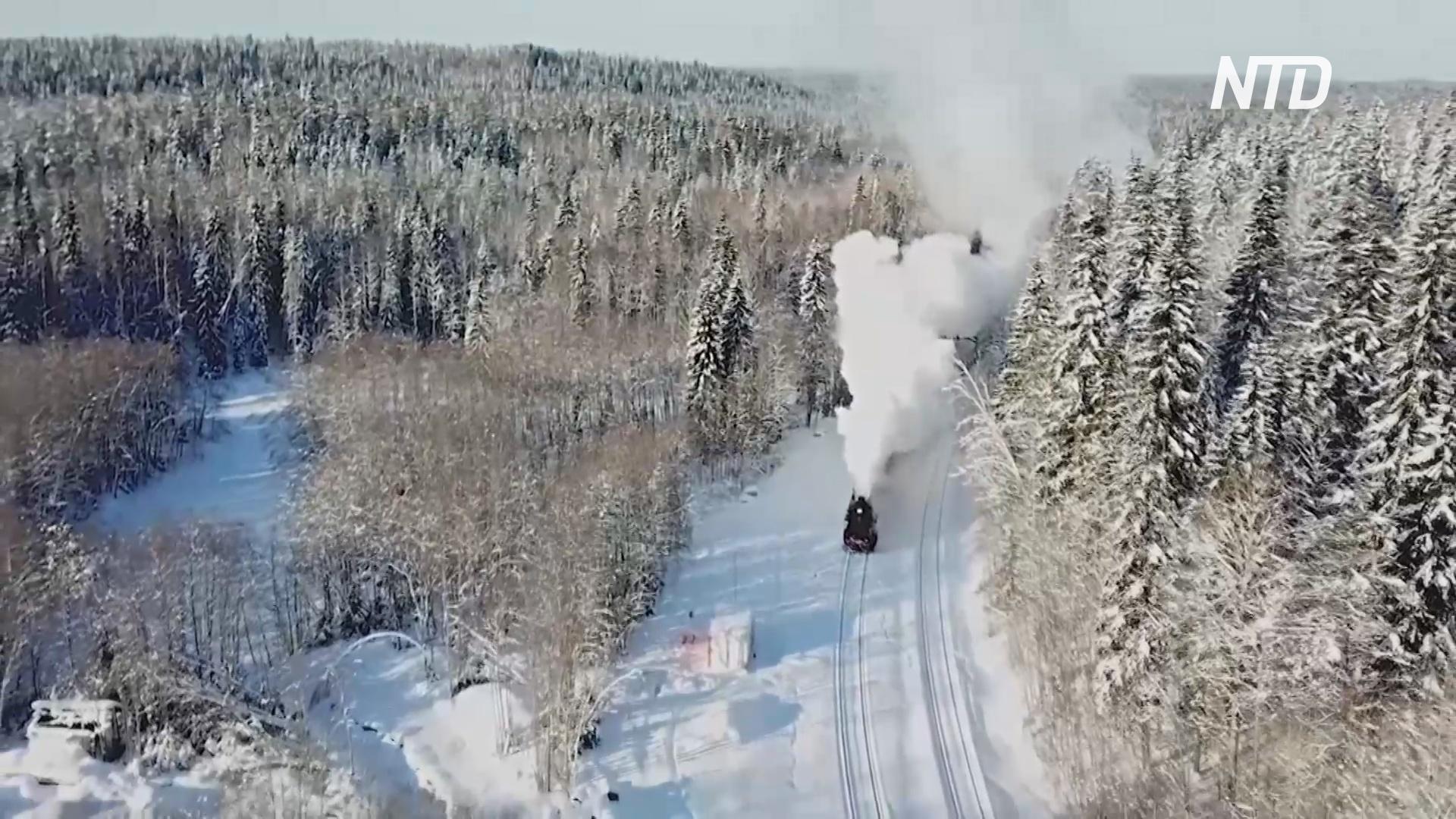 В Карелии ретропоезд возвращает пассажиров в атмосферу начала XX века