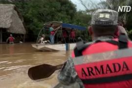 Север Боливии затопило, людей эвакуируют