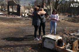 Лесные пожары в Аргентине уничтожили сотни жилых домов