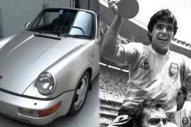 Porsche Марадоны продали на аукционе в три раза дороже, чем ожидали