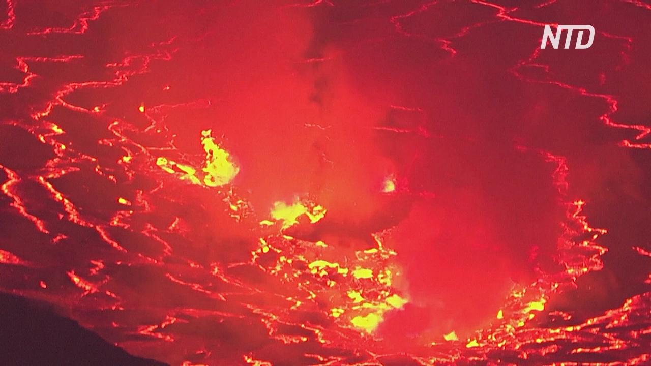 Чем вулкан в ДР Конго беспокоит учёных