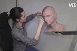 Во Владивостоке создают лица человекоподобных роботов