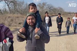 В США – самый большой за 20 лет наплыв мигрантов на южную границу