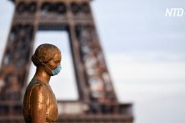 Франция вводит локдаун в Париже и ещё 15 департаментах