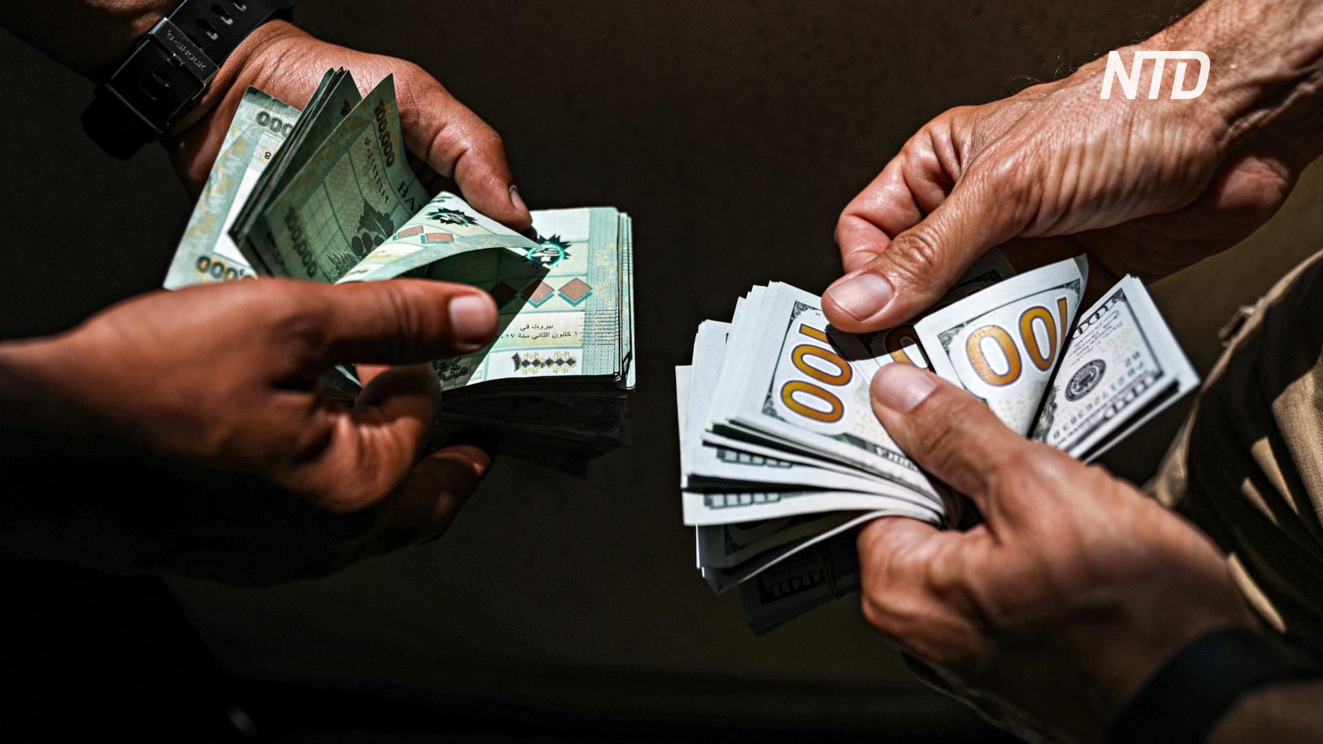 Ливанцам грозит дефицит продуктов из-за падения курса фунта