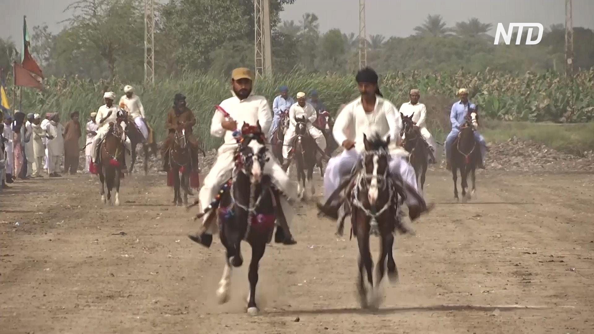 Борьба и скачки: традиционный фестиваль в Пакистане