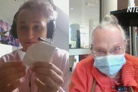 Свела пандемия: как подружились британский студент и француженка-долгожительница