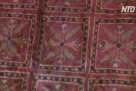 Учёные разгадали тайну яркости красок древнего пазырыкского ковра