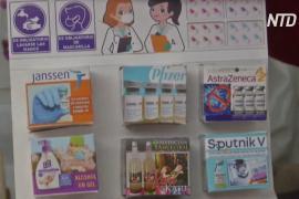 На ярмарке желаний боливийцы просят о здоровье и покупают миниатюрные вакцины