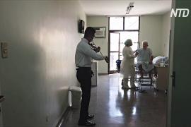Скрипач играет в бразильской больнице, чтобы пробудить в людях надежду