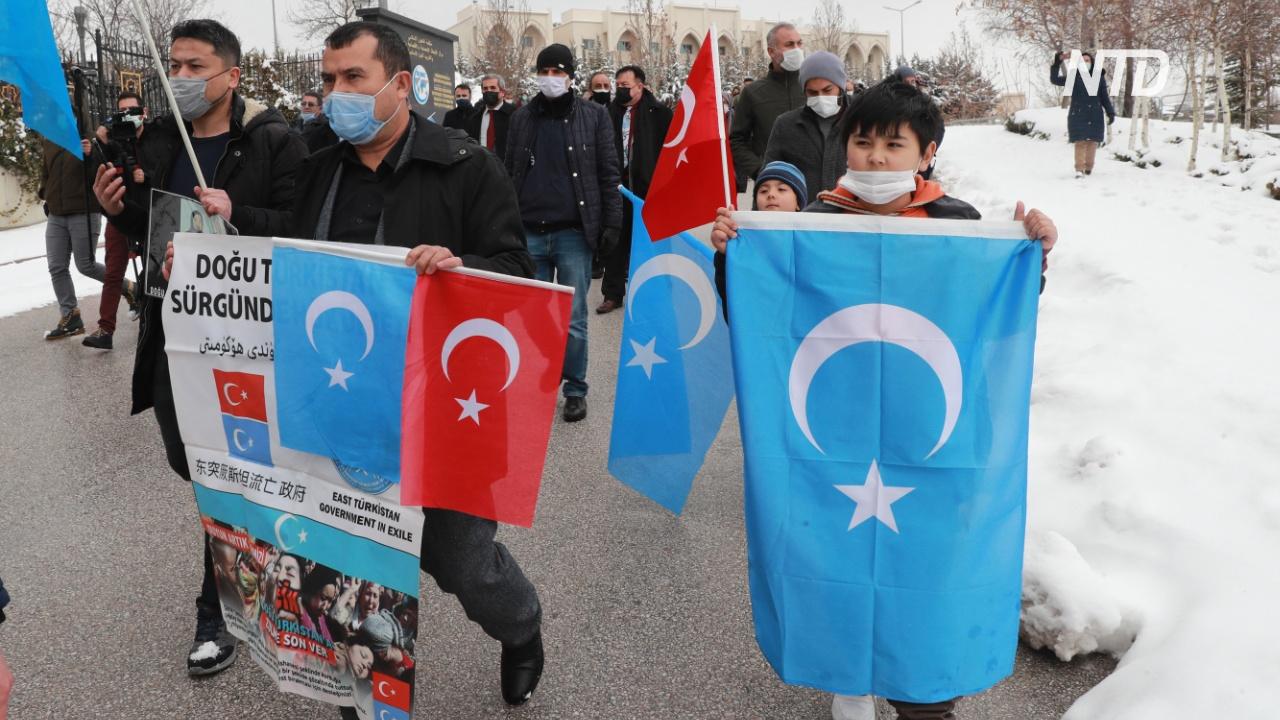 Визит китайского чиновника в Турцию вызвал массовые выступления уйгуров