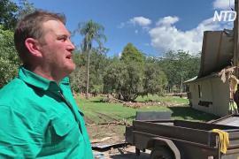 Австралиец спас дом от пожара, но потерял его в наводнении