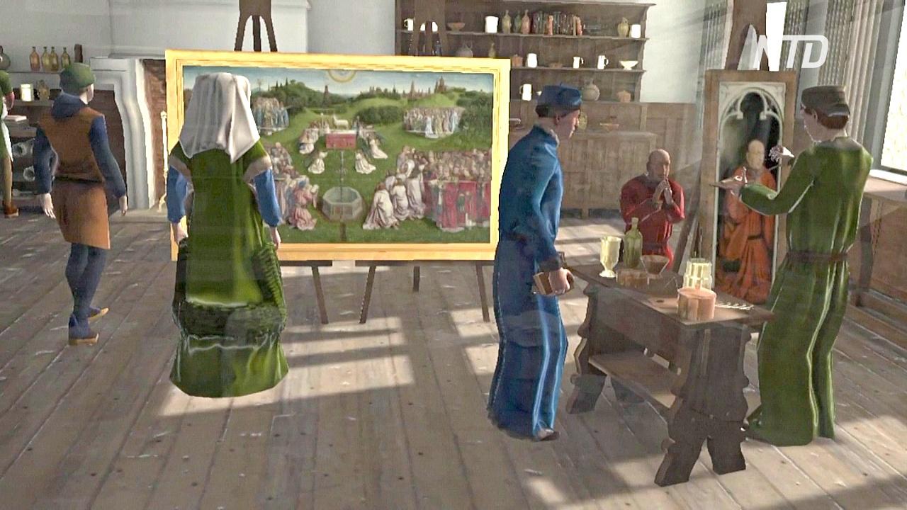 По знаменитому Гентскому алтарю можно погулять в виртуальной реальности