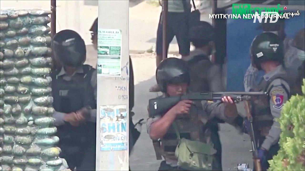 Военные Мьянмы открыли огонь во время похорон погибшего протестующего