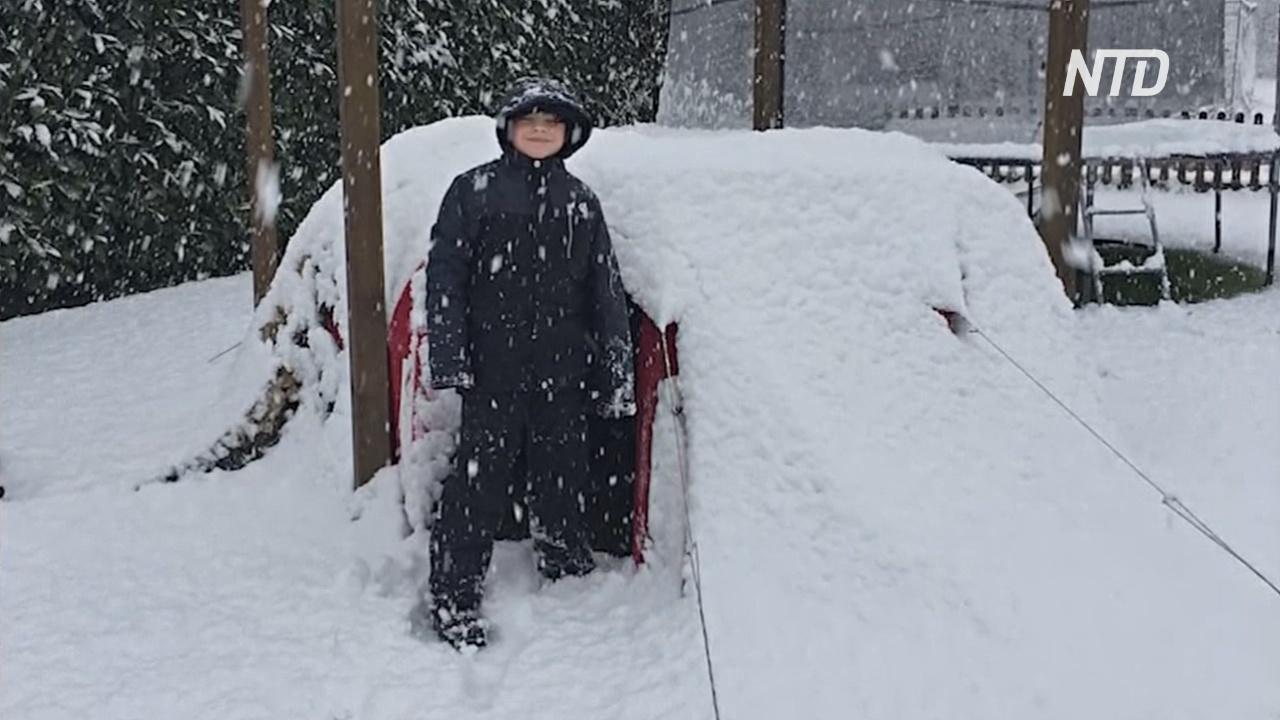 10-летний мальчик с началом «локдауна» переселился в палатку