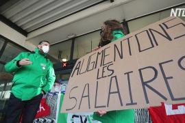 В Бельгии – первая общенациональная забастовка за время пандемии