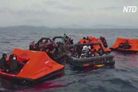 ЕС просит Грецию расследовать, не разворачивает ли береговая охрана лодки с мигрантами