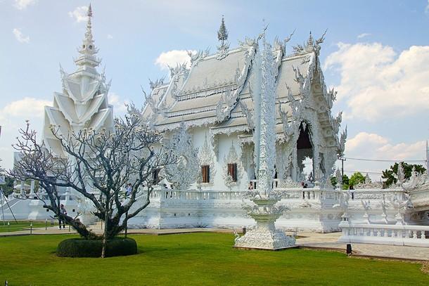 Чианграй Таиланд Белый Храм