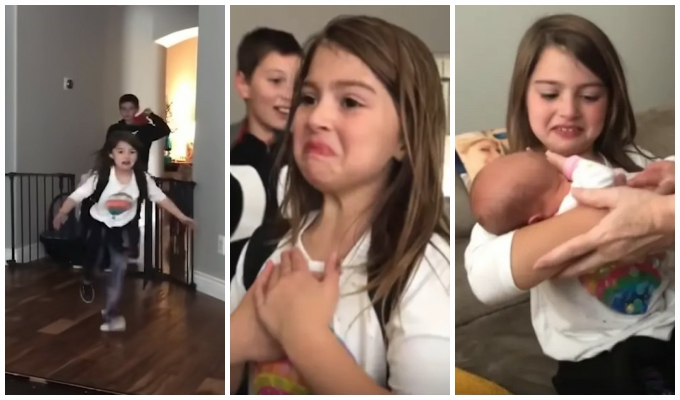 Почему девочка ждала встречи с новорождённой сестрой 16 дней