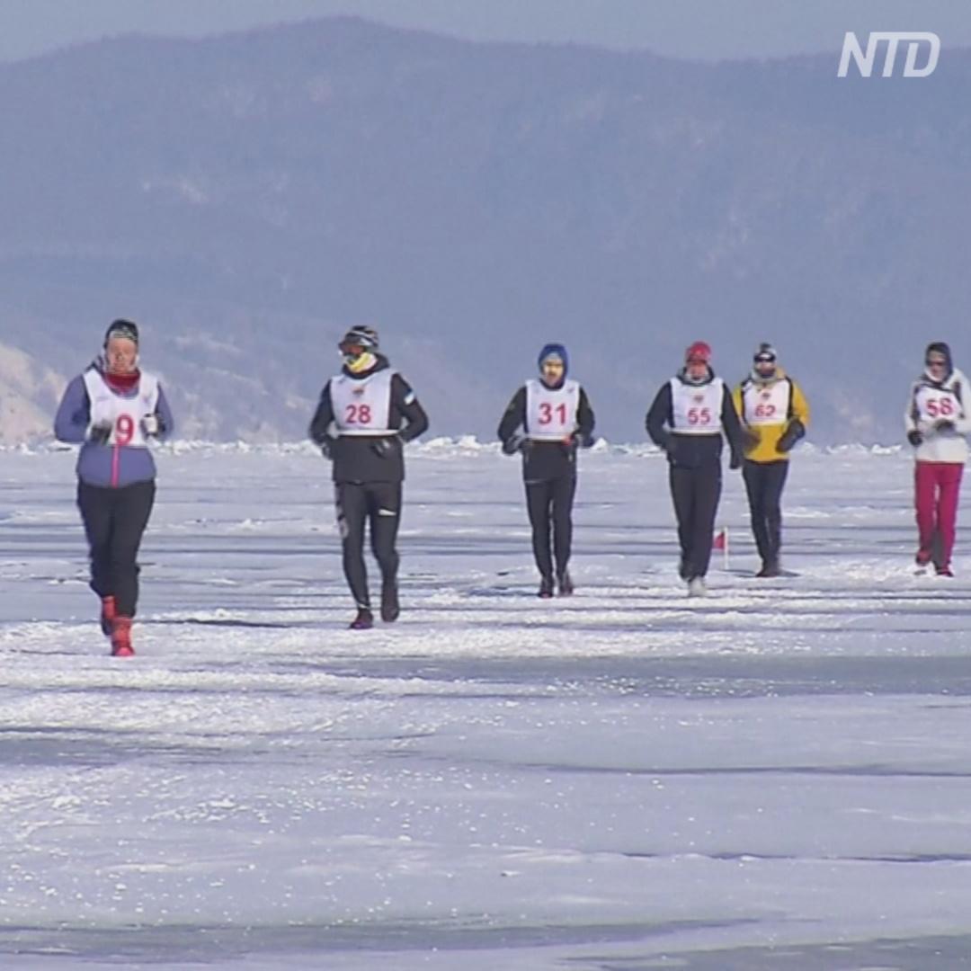 Байкальский ледовый марафон: кто победил в этот раз