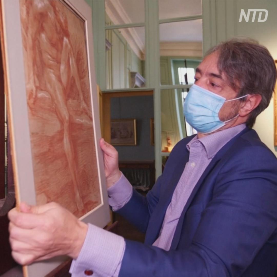 Редкий рисунок скульптора Бернини продадут на аукционе