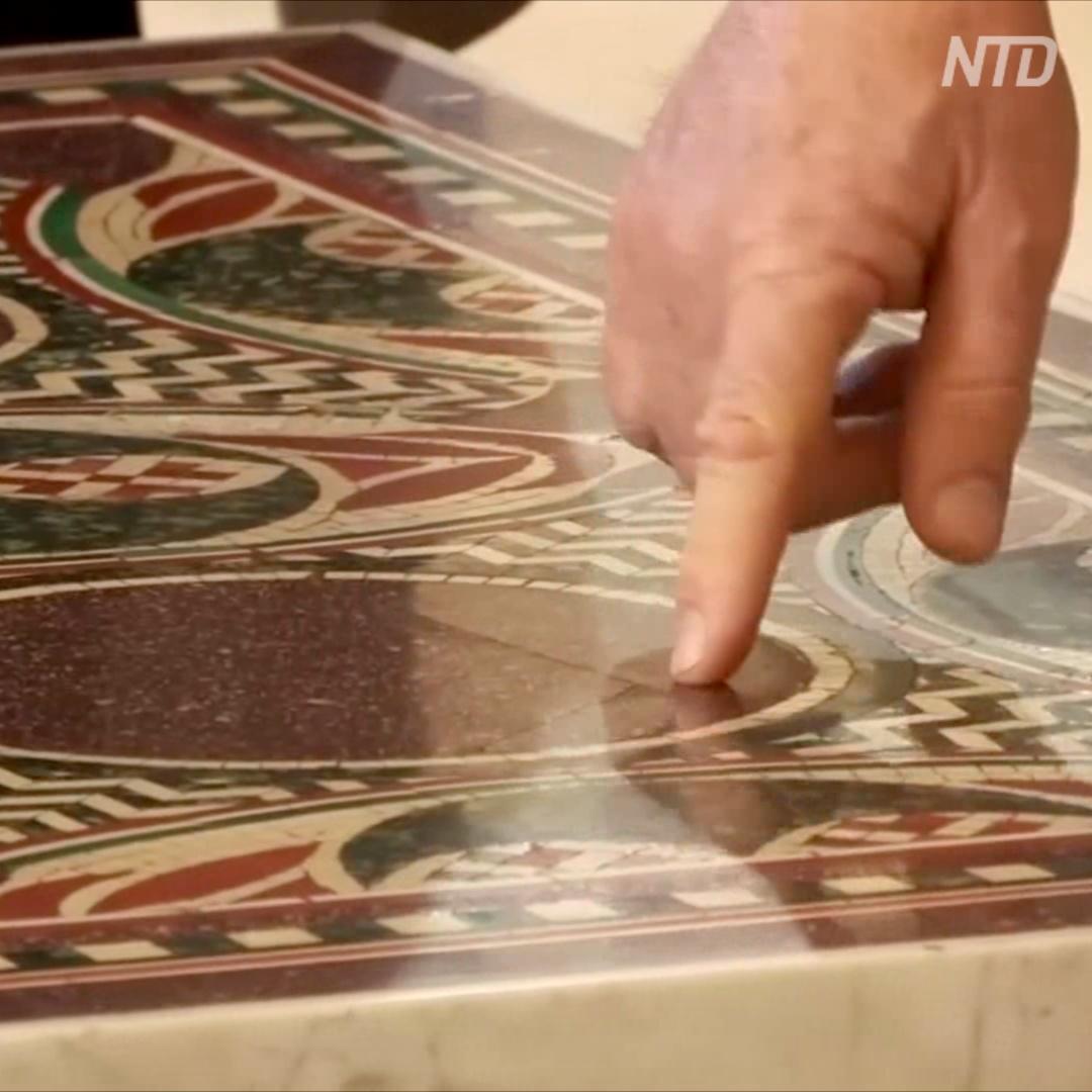 Со дна озера – на Манхэттен, и обратно в Италию: путешествия древнеримской мозаики