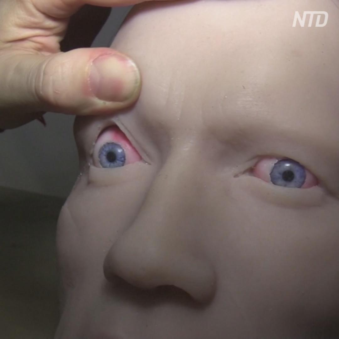 Как оживают лица человекоподобных роботов