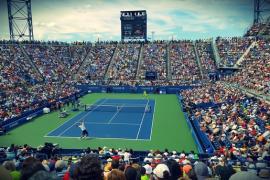 На теннисных кортах мира