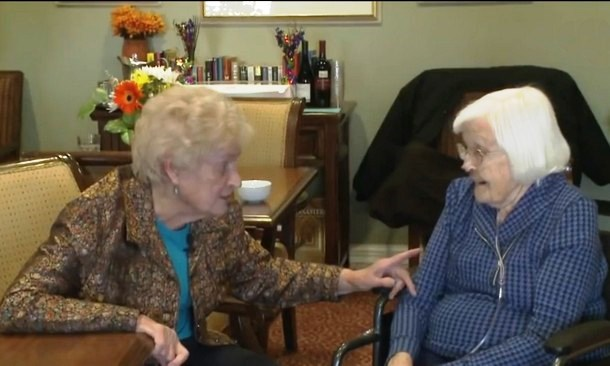 Бабушки, которые отпраздновали 95-летие, дружат более 80 лет