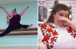 Девушка ломает стереотипы о параметрах балерины