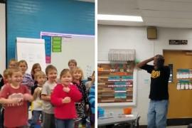Почему поздравление детей тронуло учителя до слёз