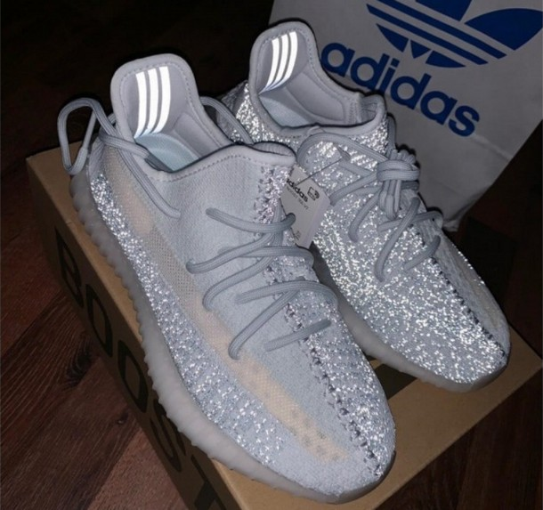 ADIDAS YEEZY BOOST 350 V2 CLOUD WHITE (REFLECTIVE)