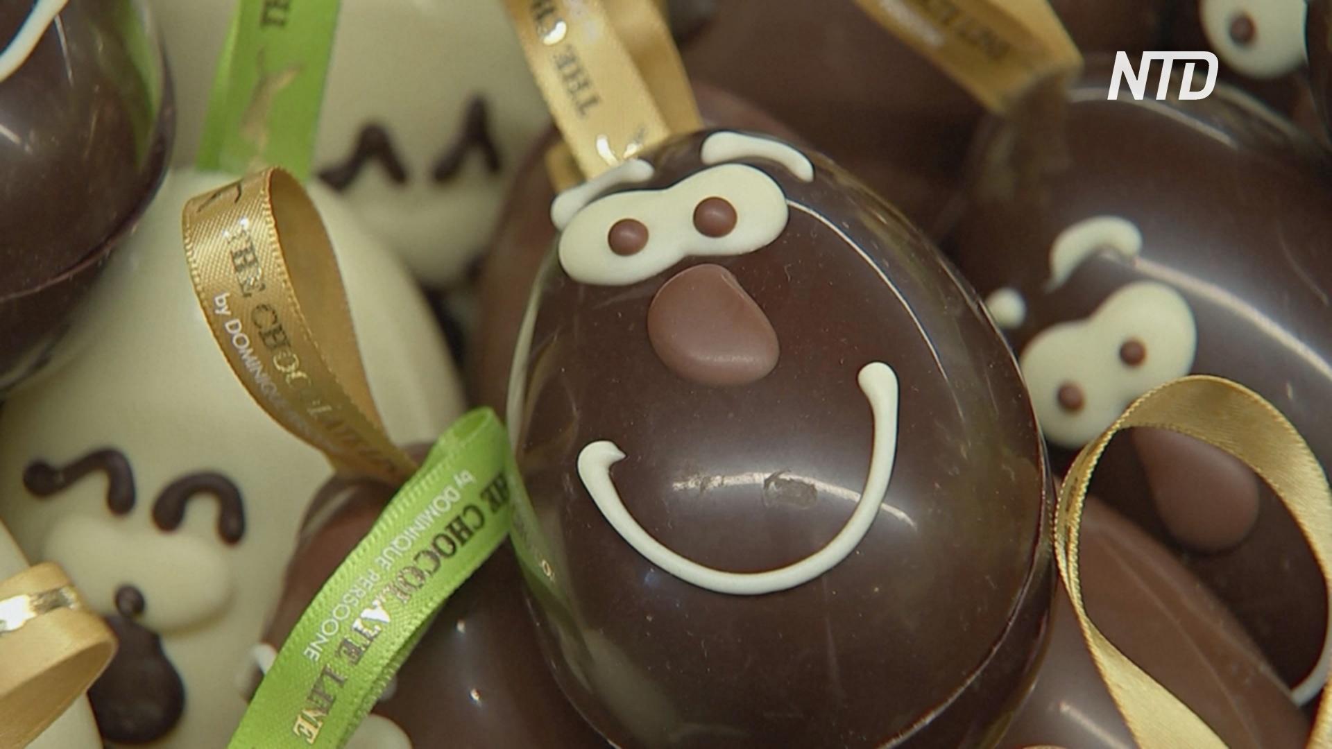 Шоколадные яйца со вкусом травы: в Брюгге подготовили к Пасхе новые рецепты