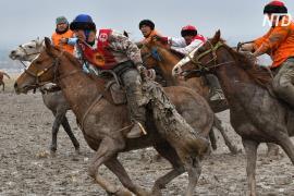 Традиционные соревновании по Кок-бору прошли в Кыргызстане