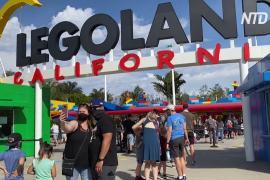 Калифорнийские парки развлечений снова принимают гостей