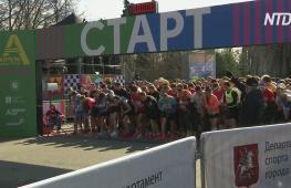 Весенний забег в Москве: в кроссе в «Лужниках» поучаствовали 4500 человек