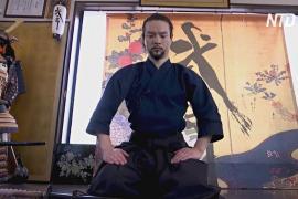 Японский самурай надеялся на Олимпиаду, но иностранных гостей не пустят
