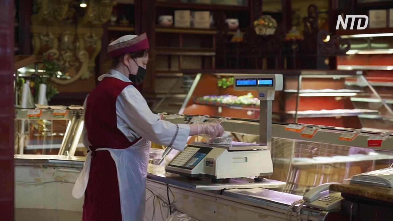 В Москве закрывается знаменитый Елисеевский магазин