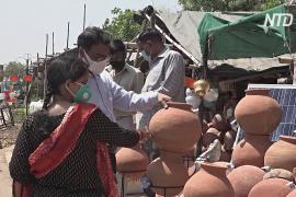 Почему в летнюю жару в Индии растёт спрос на глиняные горшки