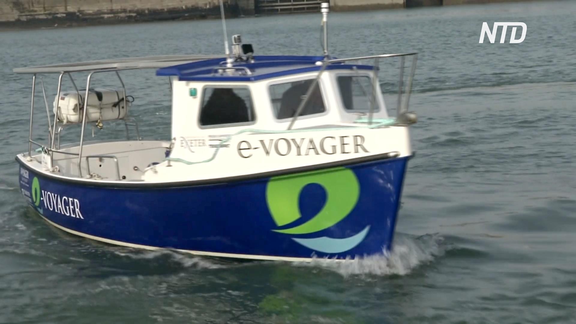 В Великобритании появится первый пассажирский катер с электродвигателем