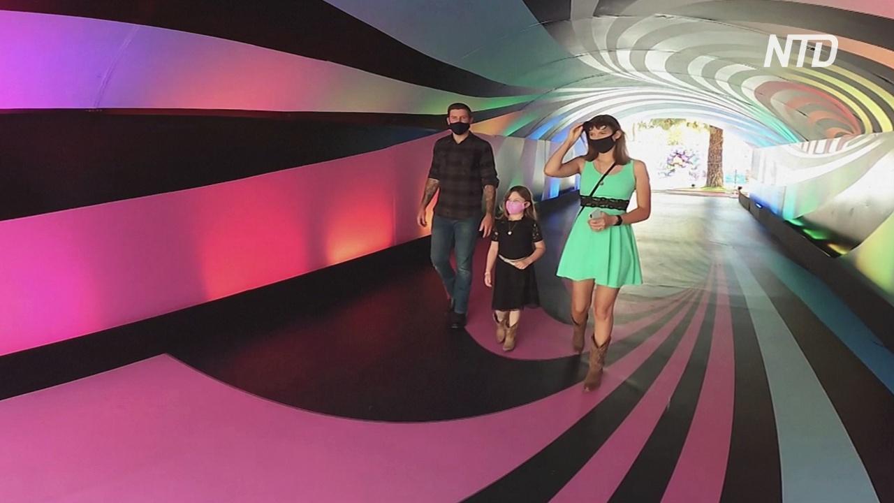 Сладкие и разноцветные: в Лос-Анджелесе открыли парк «Сахарная эйфория»