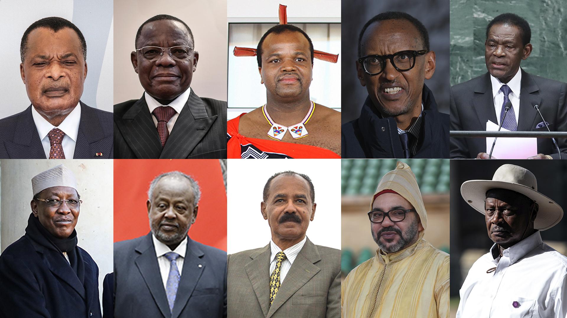 ТОП-10: самые долгоправящие политики и монархи Африки