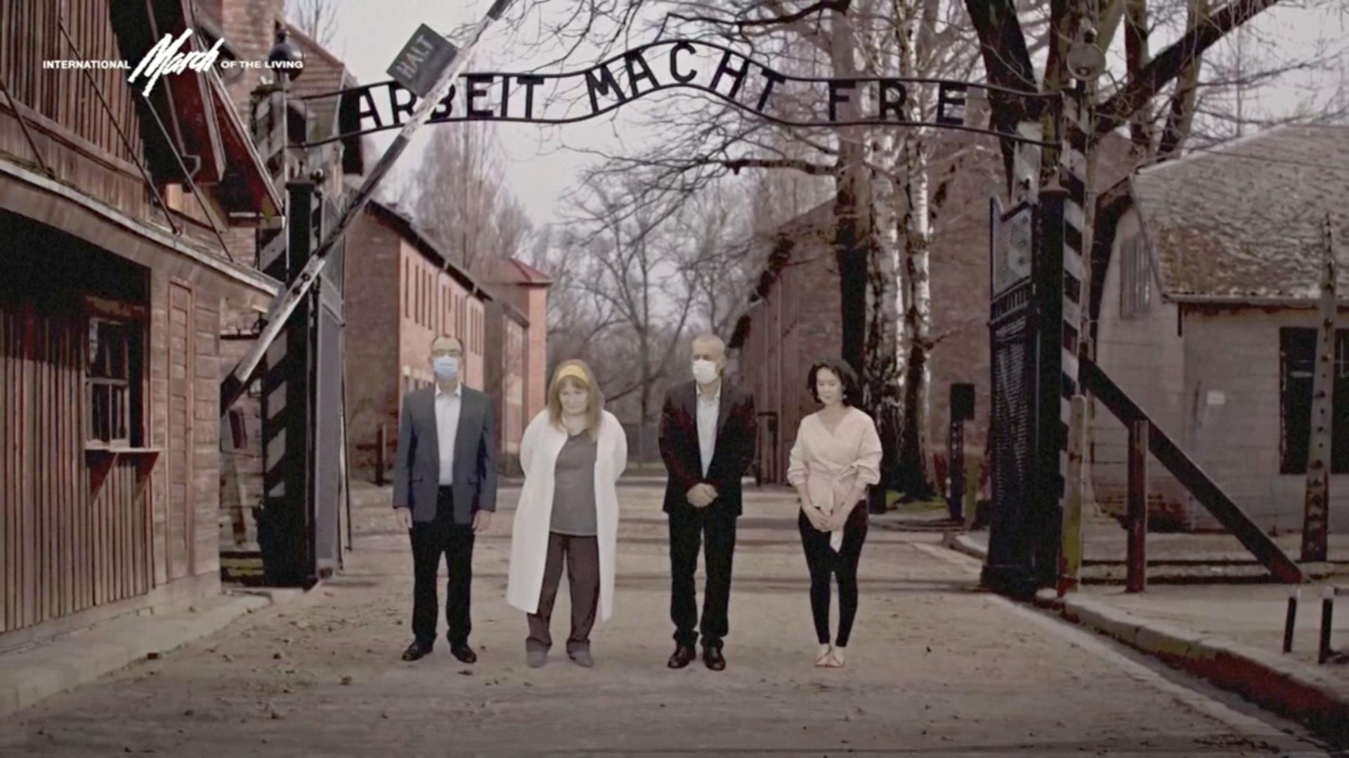Память узников нацистских концлагерей почтили на виртуальном «Марше живых»