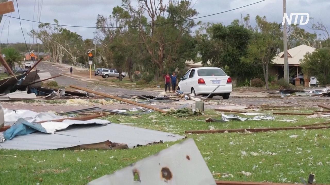 В Западной Австралии оценивают ущерб после циклона «Сероя»