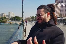 Человек-саксофон: как египтянин исполняет музыку без инструментов