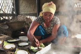 В индийской деревне до сих пор добывают соль методом выпаривания