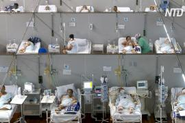 Большинство мест в реанимациях Бразилии занимают больные COVID младше 40 лет