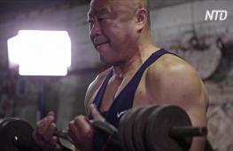 Пекинские дедушки по-прежнему тягают железо в спортзале 40-летней давности