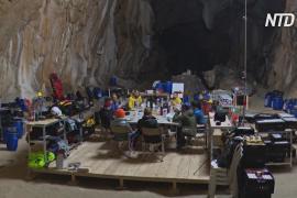 Группа волонтёров проводит 40 дней в изоляции в подземной пещере